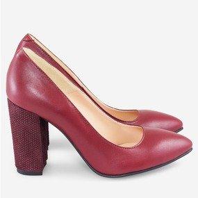 Pantofi cu toc gros Envy