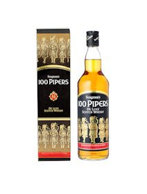 100 Pipers Blended Whisky 0,700 ml