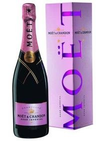 Sampanie Moet Chandon Rose.