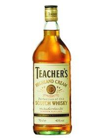Whisky Teachers 700ml, cutie metalica.