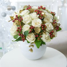 Christmas Gold Bouquet