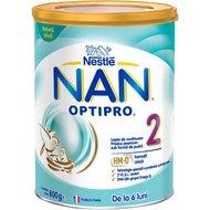 Lapte de continuare pentru sugari Nestlé NAN OPTIPRO 2 HM-O, de la 6 luni, 800g