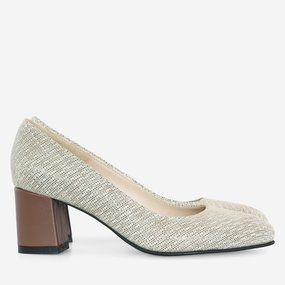 Pantofi dama din piele naturala bej Maddie
