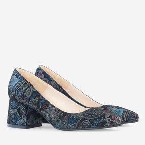 Pantofi dama din piele naturala neagra Petra