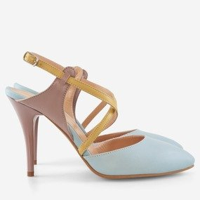 Pantofi stiletto decupati Sofia