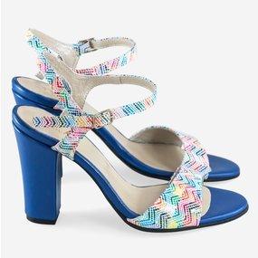 Sandale multicolore Claire
