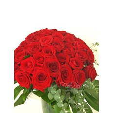 48 Red Roses Bouquet