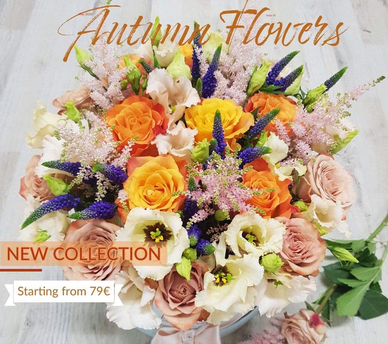Send Flowers to Milan Autumn Collection