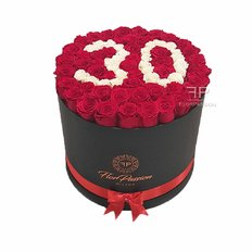 Preserved Rose Box | Happy Birthday Flowers | FlorPassion Italia