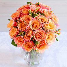 Orange Roses | Birthday Flowers to Milan and Monza