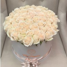 Box White Rose | Million Roses | Flowers Delivery