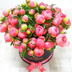 Peonies Box FlorPassion Luxury Florist Milan Monza Como