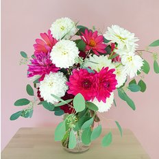 Organic Slow Flowers Delivery Milan Monza Como | Dahlias | Seasonal Flowers