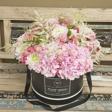 Luxury Flower Box | Milan Florist | Monza Flowers Delivery | FlorPassion