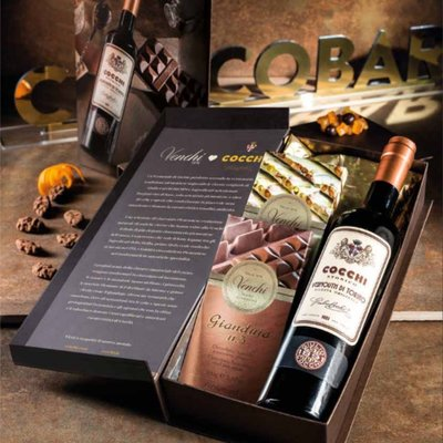 Gift Box Venchi Vermouth Chocolate Experience