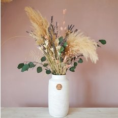 Dried Flowers Pampas Grass Lavender | FlorPassion Milan