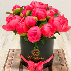 Lovely Coral Peonies Box