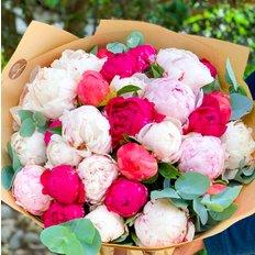 Peonies Bouquet | Luxury Florist Milan | Best Quality Peony