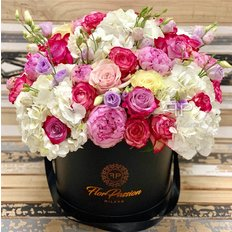 Flower Box | Same day Flower Milan | FlorPassion Luxury Florist