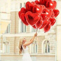 Palloncini per San valentino| Consegna Fiori Milano | Fioriaio Online FlorPassion