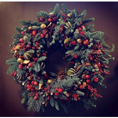 Rustic Christmas Wreath