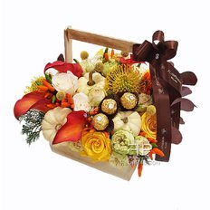 Autumn Flowers Same Day Delivery Milan and Monza