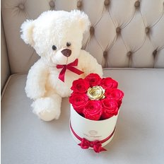 Box Rose Stabilizzate San Valentino | Fiorista Milano