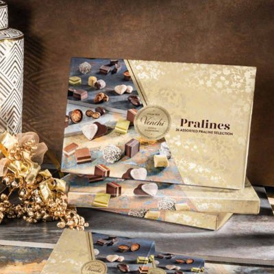 Venchi Pralines Selection Gift Box 200g