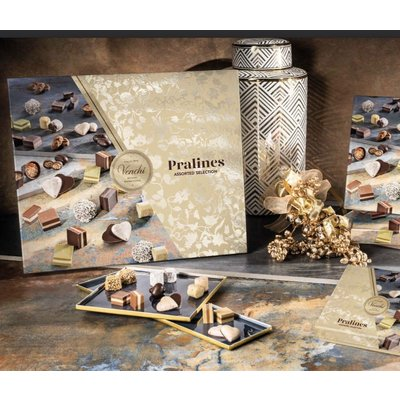 Venchi Pralines Selection Scatola Regalo 459g