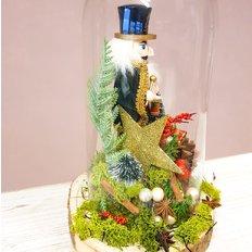 Winter Wonderland Glass Dome