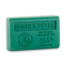 Săpun 125g cu Unt de Karité bio - BONNES FETES - SAPIN