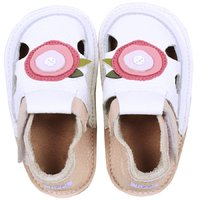Barefoot kids sandals - Delicate rose