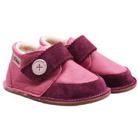 Barefoot wool boots - Cherry Buttons - LIMITED EDITION