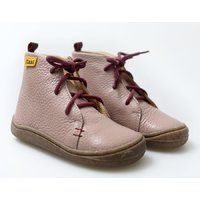 Barefoot leather boots - Beetle - Tourmaline