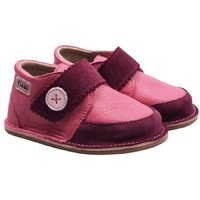 Barefoot leather boots - Cherry Buttons