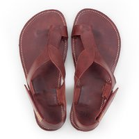 Barefoot toe loop sandals - Fire - in stock