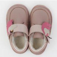 Barefoot wool boots - Unicorn