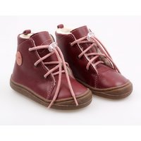 Ghete Barefoot - Beetle Bordeaux 19-23 EU
