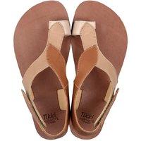 OUTLET - Sandale damă barefoot 'SOUL' -  Caramel