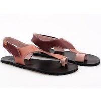 OUTLET - Sandale damă barefoot 'SOUL' -  Sangria