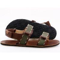 Sandale barbati barefoot - MOSS - Brown