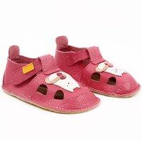 Sandale Barefoot din piele - NIDO Kitty
