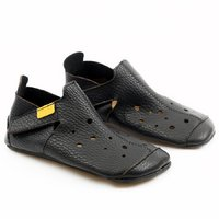 Soft soled shoes - Ziggy Black 18-29 EU