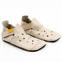 Soft soled shoes - Ziggy Cream 30-35 EU
