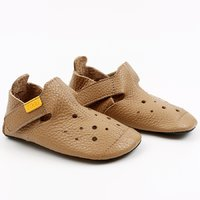 Soft soled shoes - Ziggy Ecru 18-29 EU