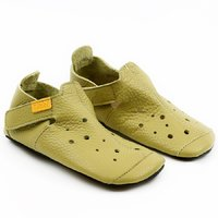 Soft soled shoes - Ziggy Lime 30-35 EU