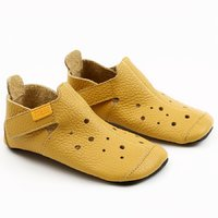 Soft soled shoes - Ziggy Yellow 30-35 EU
