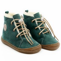 Water-repellent wool boots - Beetle Pine 19-23 EU