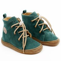 Water-repellent leather boots - Beetle Pine 19-23 EU