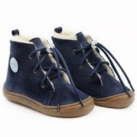 Water-repellent wool boots - Beetle Space 19-23 EU